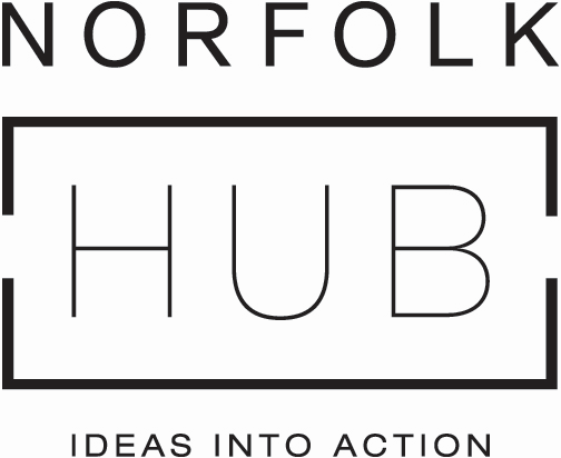 Norfolk Hub booking logo